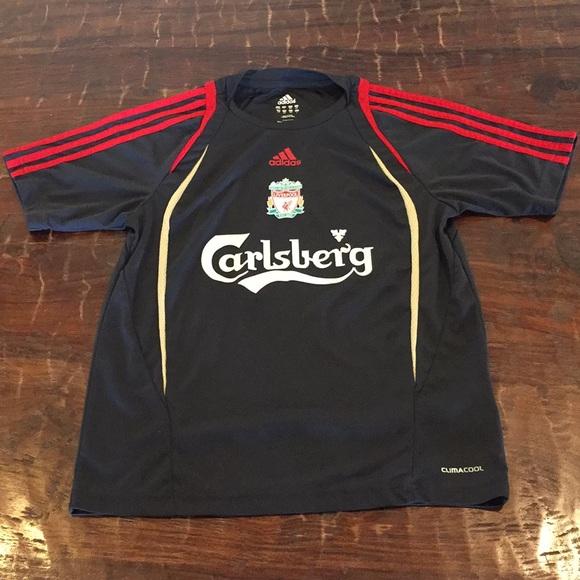Adidas camisetas & tops juventud Liverpool FC Soccer Football Jersey